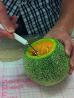 茨城県はメロン生産日本一です。