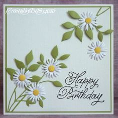 CASE this card... daisies!... Anniversary