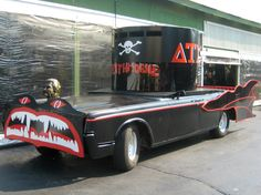 The Deathmobile from 'Animal House'.