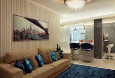decoração casas pequenas sala - Pesquisa Google