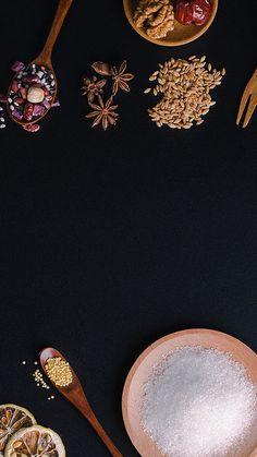 Food,black,spices,Ingredients,Food crops,black Food Graphic Design, Food Menu Design, Food Poster Design, Leaves Wallpaper Iphone, Food Wallpaper, Food Background Wallpapers, Food Backgrounds, Dark Food Photography, Background For Photography