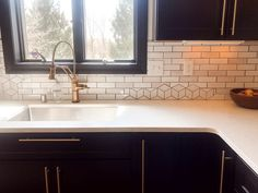Now that we've talked about our favorite bathroom fixtures when it comes to all things plumbing, it's time to share our favorite kitchen fixtures including sink Kitchen Fixtures, Kitchen Cabinetry, Bathroom Fixtures, Small Kitchen Redo, Kitchen And Bath, Black Kitchens, Cool Kitchens, Colorful Kitchens, Kitchen Colors