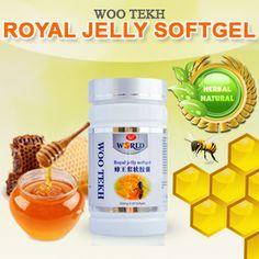 Woo Tekh Suplemen Obat Herbal Royal Jelly 60 Softgel