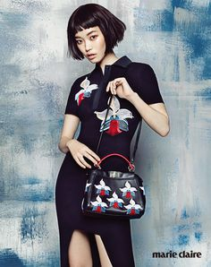 Seong Hwang by J. Dukhwa for Marie Claire Korea Feb 2015