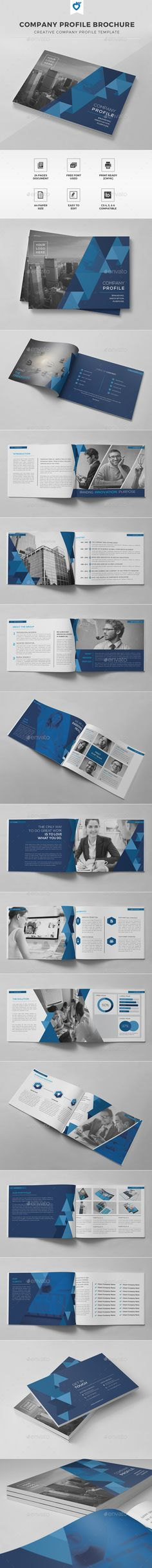 Company Profile Brochure Template #design Download: http://graphicriver.net/item/company-profile-brochure/11808076?ref=ksioks