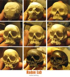 Small tutorial and the process of creating a wooden skull ring for man. It is not just a carved ring. This is a unique handmade black ring, maby biker ring or gothic. Hand Carving makes this ring a real wood art, expressed in sculpture. Wood Carving Faces, Dremel Wood Carving, Wood Carving Patterns, Wood Carving Art, Carving Designs, Bone Carving, Wood Art, Sculpture Dremel, Wood Sculpture