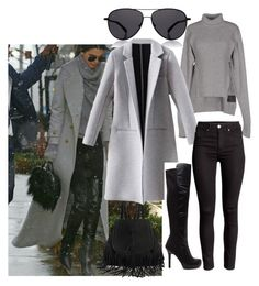 """""""Celebrity Street Style"""" by rhmz on Polyvore featuring Alexander Wang, The Row, women's clothing, women, female, woman, misses and juniors"""
