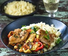 Marocké kuře | Recepty Albert Kung Pao Chicken, Cobb Salad, Potato Salad, Potatoes, Ethnic Recipes, Vietnam, Indie, Food, Potato