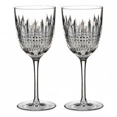 Christmas dining ideas - Give your guests a true sense of luxury with these ornate and opulent wine glasses.