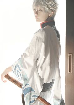 Follow our board at http://www.pinterest.com/beshirpy/ for more inspiring cosplay pictures!  Gintoki Sakata from Gintama Cosplayer: Kuryu http://worldcosplay.net/member/kuryu Photographer: UM