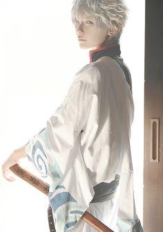 Follow our board at http://www.pinterest.com/beshirpy/ for more inspiring cosplay pictures!  Gintoki Sakata from Gintama Cosplayer: Kuryu http://worldcosplay.net/member/kuryu Photographer: UM