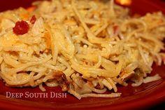 Chicken and Spaghetti Casserole