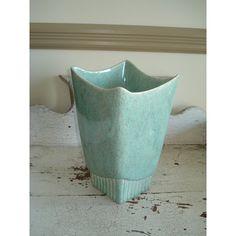 Vintage Mid Century Vase Retro Mod Minimalist Home Decor Hollywood (€25) via Polyvore featuring home, home decor e vases