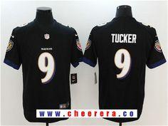 Men's Baltimore Ravens #9 Justin Tucker Black 2017 Vapor Untouchable Stitched NFL Nike Limited Jersey