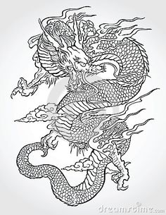 Chinese Dragon Vector Stock Photos, Images, & Pictures – (2,375 Images)