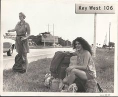 "An iconic photo taken in 1971. Written on the back of the photo: ""Hippies Key West"""
