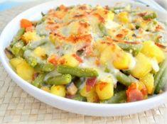 gratinado de verduras, para dieta light Light Cheesecake, Potato Salad, Tapas, Sushi, Smoothies, Veggies, Cooking, Ethnic Recipes, Chile