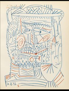 Pablo Picasso Dessins rare book for sale. This First Edition by Pablo PICASSO, Maurice JARDOT is available at Bauman Rare Books. Art Picasso, Picasso Sketches, Picasso Drawing, Picasso Paintings, Illustrations, Illustration Art, Cubist Movement, Art Brut, Georges Braque