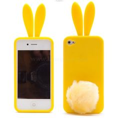 Rabbit Bunny Case for iPhone 4 & 4S