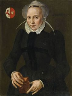 Portrait de Maria van der Swan, vers 1580 peintre anonyme