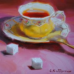 Русское чаепитие с привкусом французского импрессионизма