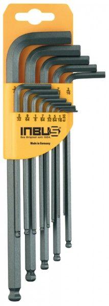 "INBUS® 70433 - Zoll 13tlg. 0.05-3/8"" Made in Germany      Satz 13tlg. 0.05-3/8""     dank Eurolochung aufhängbar     10 Jahre Garantie     Marke: INBUS® - Das Original seit 1934.  http://www.inbus.de/home/inbus-zoll-kugelkopf/42/inbus-70433-inbusschluessel-satz?c=10"