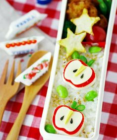 9 Bento Lunch Ideas (images only)