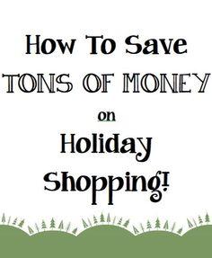 Ashley Brooke: Secrets of A Shopaholic: How to Save TONS of Money on Holiday Shopping! make money for christmas #christmas