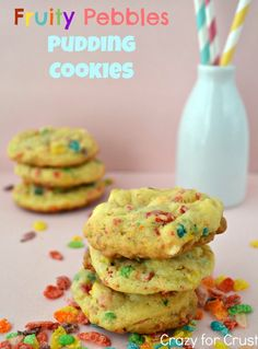 Fruity Pebble Cookies. They are literally to die for. Have not met one person who hasn't liked these!