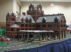 Union Depot replica at Toledo Train and Toy Show, March 14, 2010 | Flickr - Photo Sharing!