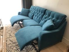 These three recliner seat sofa cm wide) operate separately, so its up to the user whether they recline (and if so, how far). Sofa Bed, Couch, Recliner, Sofas, Clever, Furniture, Home Decor, Chair, Pull Out Bed
