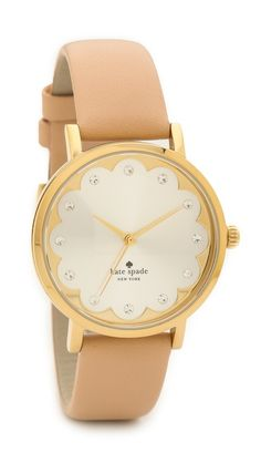 Kate Spade New York Novelty Metro Watch SHOP BOP 25% OFF Kate Spade Metro Watch, Closets, Spade Watches, Metro Watches, Gold Watches, Spade Obsession, Gold Accessories, Scallops Kate, My Style