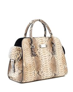 Gia Python Satchel by Michael Kors at Neiman Marcus.