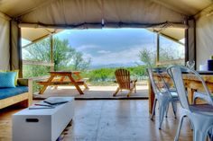 Africamps Boutique Camping, together with the Pat Busch Mountain Reserve, have launched safari tent glamping in the mountain fynbos beyond Robertson. Boutique Camping, Go Glamping, Lodges, The Great Outdoors, South Africa, Tent, Places To Visit, Patio, Outdoor Decor