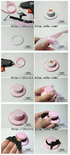 Diy barbie doll hat.  G;)