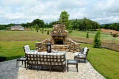 The MacAuley #ModelHome #outdoorliving