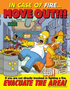 the simpsons funny | The SIMPSON Range of Health and Safety Awareness Posters - to attract ...