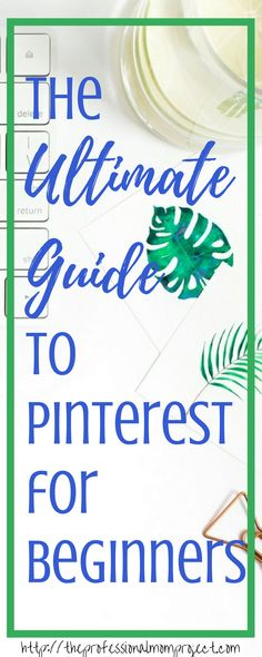 Are you new to Pinterest? Check out this very ultimate guide to Pinterest for Beginners where you can learn how to set up your Pinterest account, how to pin and follow topics that you're interested in.
