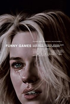 """""""Funny Games"""" (1997). Poster design by Crew Creative Advertising, and artwork by Akiko Stehrenberger."""