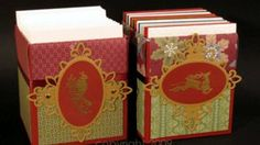 Stamp TV - Decorative A2 Greeting Card Holder from Tissue Box - 3 Parts