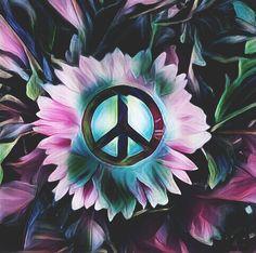 ☮/JLB Pray For World Peace, Make Peace, Peace Of Mind, Peace And Love, Hippie Peace, Hippie Love, Hippie Art, Hippie Style, Peace Sign Symbol