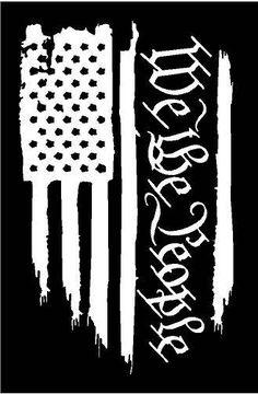 American flag We the people constitution amendment vinyl die cut sticker decal Pledge of Allegia Silhouette Cameo Projects, Silhouette Design, Silhouette Cameo Vinyl, Silhouette Files, Silhouette Studio, Vinyl Crafts, Vinyl Projects, Art Projects, Cricut Vinyl