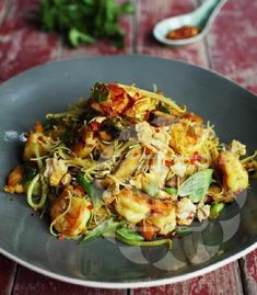 Fiery Singapore Noodles Ching-He Huang Chinese Cooking