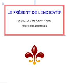 Students need extra practice in conjugating present tense?  Free 30-page booklet from Mme Martin (who has a fantastic high school French blog, by the way!)