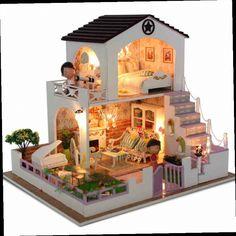 freies verschiffen montage diy miniatur modell kit. Black Bedroom Furniture Sets. Home Design Ideas