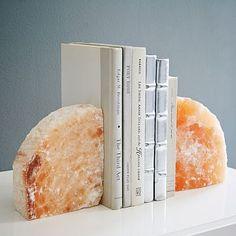 Selenite Bookend - Coral #westelm