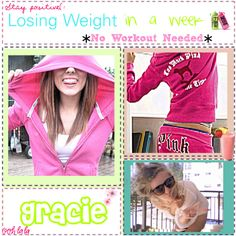 """""""Losing Weight in a Week *No Workout*"""" by totally-tipsy-girls on Polyvore"""