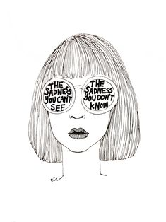 toxicist:  etcetera-drawings:  the things we hide, the whispers we share.  more here