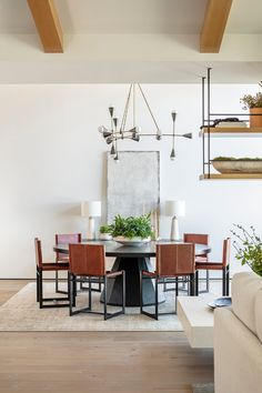 SPYGLASS — BWD Home, Dining Room Design, Scandinavian Dining Room, Contemporary House, Dining Room Inspiration, Interior, Indoor, Outdoor Living, Contemporary California