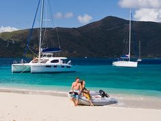 My 40th and Kent's 50th are coming up next year... If you squint you can see us in this picture.   BVI's